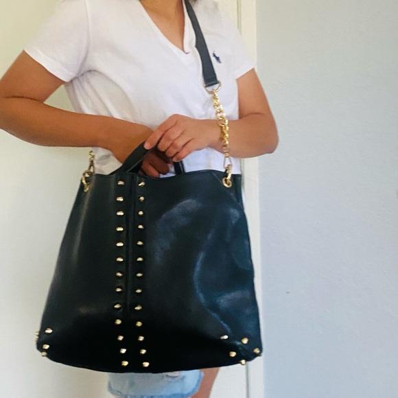 Michael Kors Uptown Astor Studded purse/crossbody